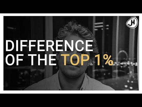 What's the difference between the TOP 1% and the REST?