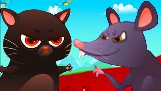 ЧЕРНЫШ и КРЫС напугали КОТЕНКА БУБУ #66 кошечка КАТЯ / Развлечения для детей for children #ПУРУМЧАТА