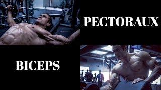 Séance 1/4 : Pectoraux-Biceps (Programme prise de masse en split)
