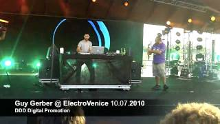 Guy Gerber live HD @ ElectroVenice 10.07.2010