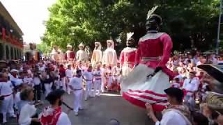 Braulia. Iruñeko erraldoiak. Gigantes de Pamplona. San Fermín.