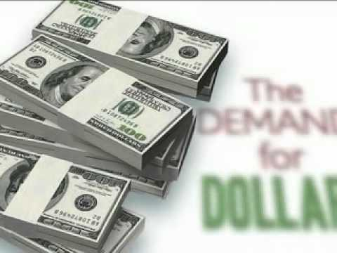 Exchange rate 1:  Demand for dollars