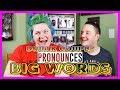 DRUNK COUPLE PRONOUNCES BIG WORDS!! -Ep.1