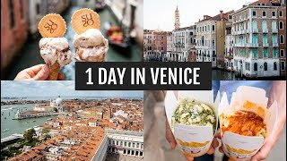 1 Day in Venice, Italy: Sightseeing + Food | Italy Day 3