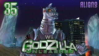 """Part 35 """"Story: Mechagodzilla (Aliens)"""" - Godzilla: Unleashed [Wii]"""