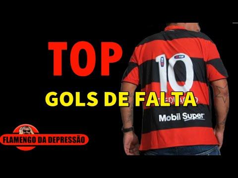 TOP 10 - GOLS DE FALTA DO FLAMENGO