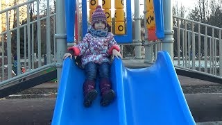 Outdoor Playground for kids Funny Baby Playing Family Fun Play Area Entertainment by UT kids