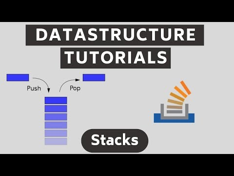 Stack Data Structure Tutorial - What is a Stack? thumbnail