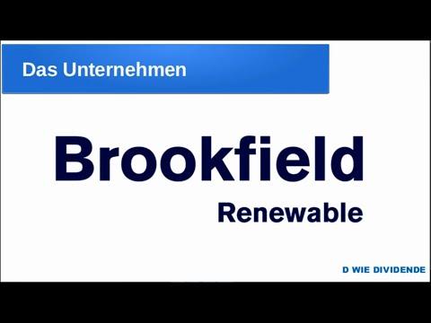 Brookfield Renewable Partners - 7% Dividende - Aktienvorstellung