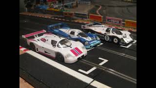 Giant Scalextric Slot Car Racing Track f1 Slot It Group C