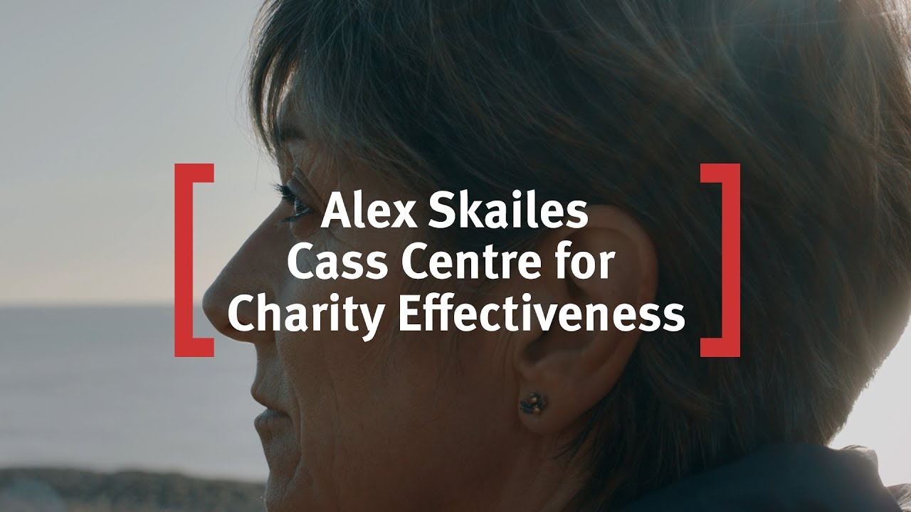 Alex Skailes at Cass Centre for Charity Effectiveness