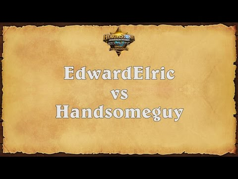 EdwardElric vs Handsomeguy - Asia-Pacific Spring Championship - Grand Finals