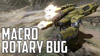 Rotary Autocannon Macro Bug