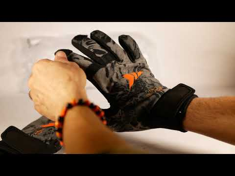 NEW KastKing Mountain Mist Fishing Gloves –  FISHING GLOVES To FINGERLESS GLOVES ASMR Video