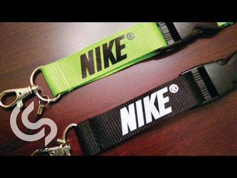 Nike Lanyard Keychain Unboxing & Review!