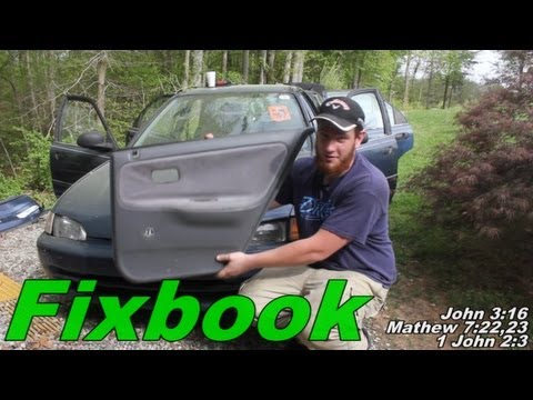 """Door Panel Removal """"How to"""" Honda Civic"""