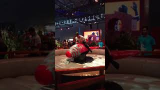 Fortnite Rocket Ride in real life at Gamescom 2018 (Rodeo Guided Missile)
