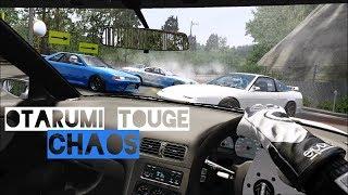 Otarumi Touge Chaos - Left Lane Drifting | Assetto Corsa VR Gameplay [Oculus Rift]
