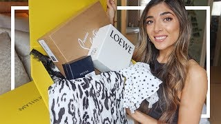 MY FIRST LUXURY HAUL OF 2020! Shopping new in for Spring! AD | Amelia Liana