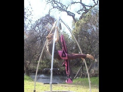 omni gym  u0026 yoga swing support stand set up omni gym  u0026 yoga swing support stand set up   youtube  rh   youtube
