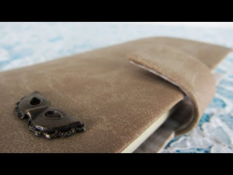 DIY - Synthetic leather cell phone case