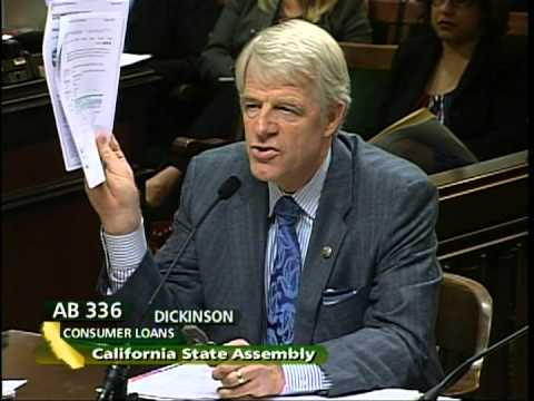 California Assembly Banking Committee hearing Sept. 9, 2012 -- Part 3