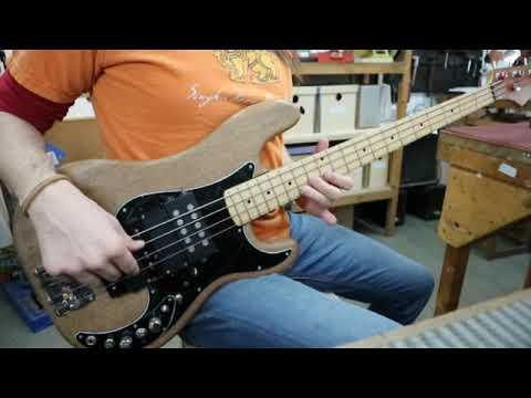 Super P bass with 5 pickups (jazz, soapbar, musicman)