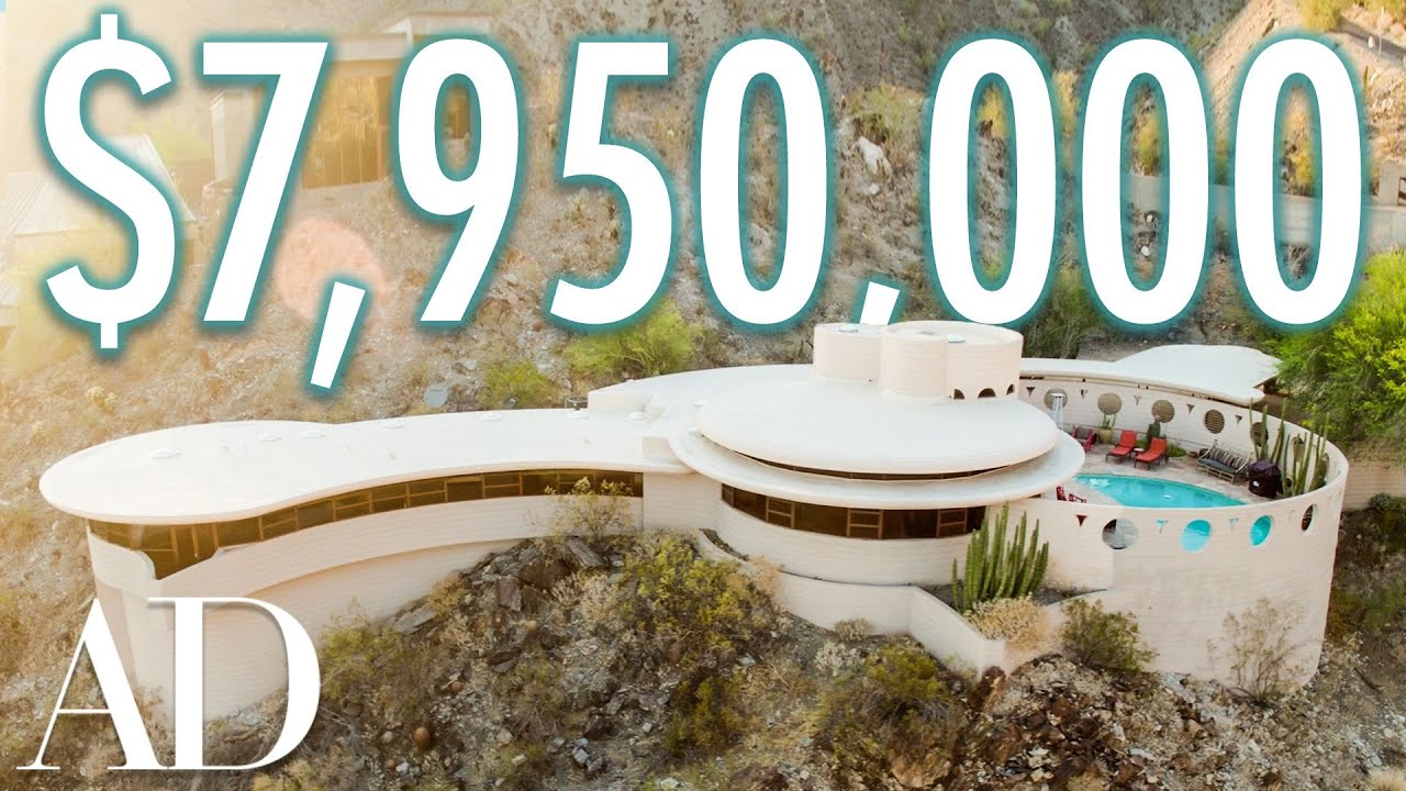 Inside The $8M Circular Sun House By Frank Lloyd Wright | On The Market | Architectural Digest