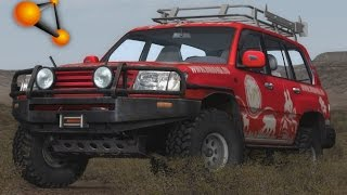 BeamNG.Drive Mod : Toyota Land Cruiser 100 (Crash test)