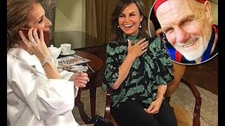 Lisa Wilkinson shares snap of Celine Dion answering phone