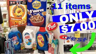 Walgreens Couponing! Easy ALL DIGITAL COUPONS ! 11 ITEMS $7!