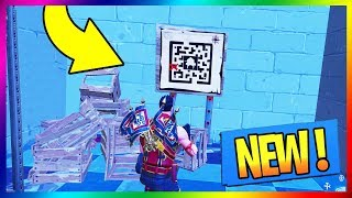 I TROUVE A QR CODE IN BATTLE ROYALE !!! FORTNITE