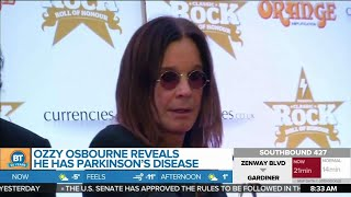 Ozzy Osbourne Reveals He Has Parkinson's Disease