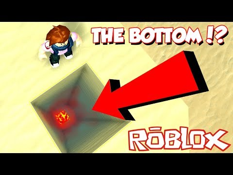 DIGGING TO THE BOTTOM OF TREASURE HUNT SIMULATOR! *WHATS THAT?* - Roblox
