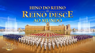 """Coral gospel """"Hino do Reino: O reino desce ao mundo"""" Comemorando a chegada do reino de Deus"""