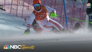 Austria's Marcel Hirscher finally wins first Olympic Alpine Skiing gold medal