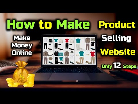 How to Make a Website For Selling Products and Make Money Online? – [Hindi] – Quick Support