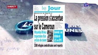 LA REVUE DES GRANDES UNES DU JEUDI 20 FEVRIER 2020 EQUINOXE TV