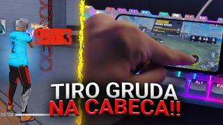 CAPA DE DESERT COM APENAS 1 TOQUE! 🎯🔥 TÉCNICA SECRETA PARA SUBIR CAPA NO FREE FIRE! SENSIBILIDADE!