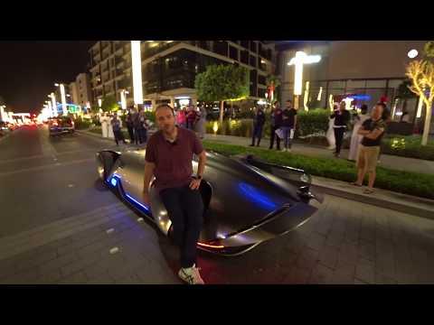 Mercedes EQ Silver Arrow - Exclusive Drive Video Review Of Captian Futures Dreamcar
