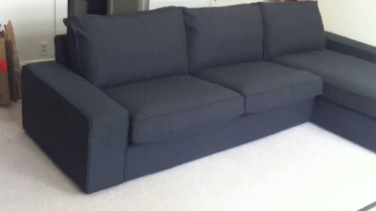 Kivik Sofa Leather Ikea Kivik Sofa Assembly Service Video In Upper Marlboro Md By Furniture Assembly Experts Llc