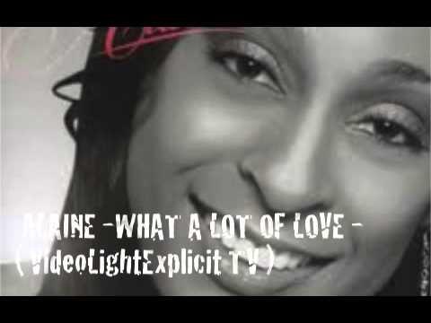 ALAINE - WHAT A LOT OF LOVE -  Reggae Dancehall - 2013