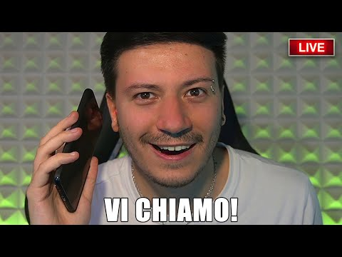 """VI CHIAMO IN LIVE """"SPECIALE"""" 1.500.000 ISCRITTI"""