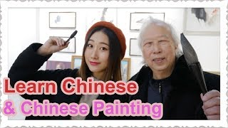 Learn Chinese Mandarins And Draw Chinese Painting | Traditional Chinese Culture | Easy Mandarins