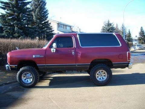 Dodge - Check out this KILLER Dodge Ramcharger!!!!! - YouTube