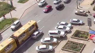 Скачать ДТП авария г Волжский ул Мира маг Заря 10 06 2016 15 29