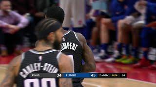 2nd Quarter, One Box Video: Detroit Pistons vs. Sacramento Kings