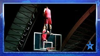 LIGHTS, BASKET and ACROBATICS with DUNKING DEVILS! | Semifinal 1 | Spain's Got Talent 2019