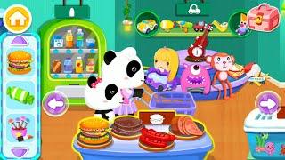 Baby Panda's Supermarket Gameplay | BabyBus Kids Games #9