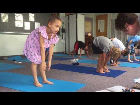Kindergarten Yoga at CAI Learning Academy